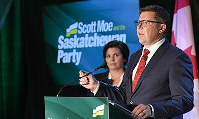 Scott Moe wins first mandate in landslide