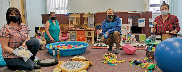 Shellbrook Library introduces sensory room