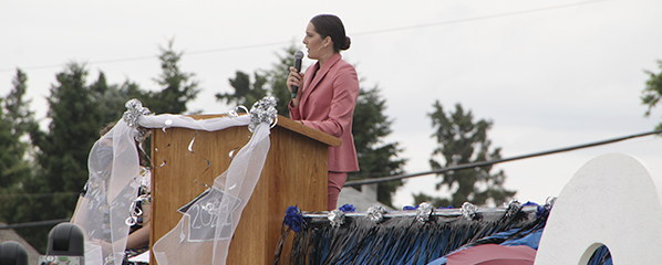 W.P Sandin High School toasts Class of 2021